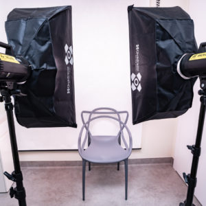 Studio fotograficzne w gabinecie