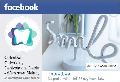 Stomatologia OptimDent Warszawa Opinie na FB